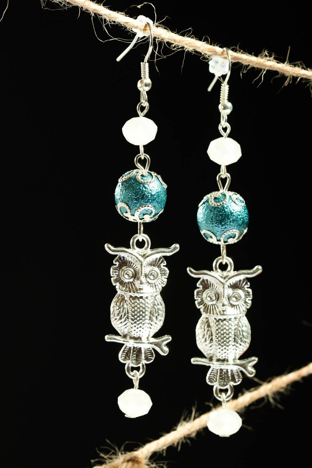 Handmade earrings designer earrings gift ideas beaded jewelry for women photo 1