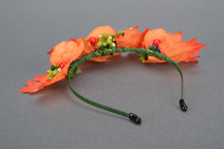 headbands and wreaths Fall hair band  - MADEheart.com
