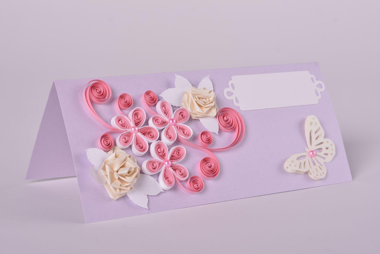 madeheart carte de voeux fait main tendre avec fleurs cadeau original pour mariage. Black Bedroom Furniture Sets. Home Design Ideas
