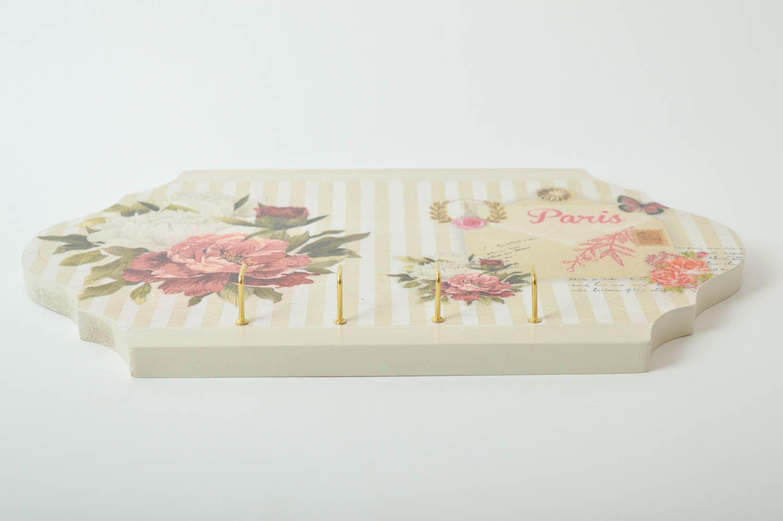 Handmade key rack wall hanger home decor decorative use only unusual gift photo 5