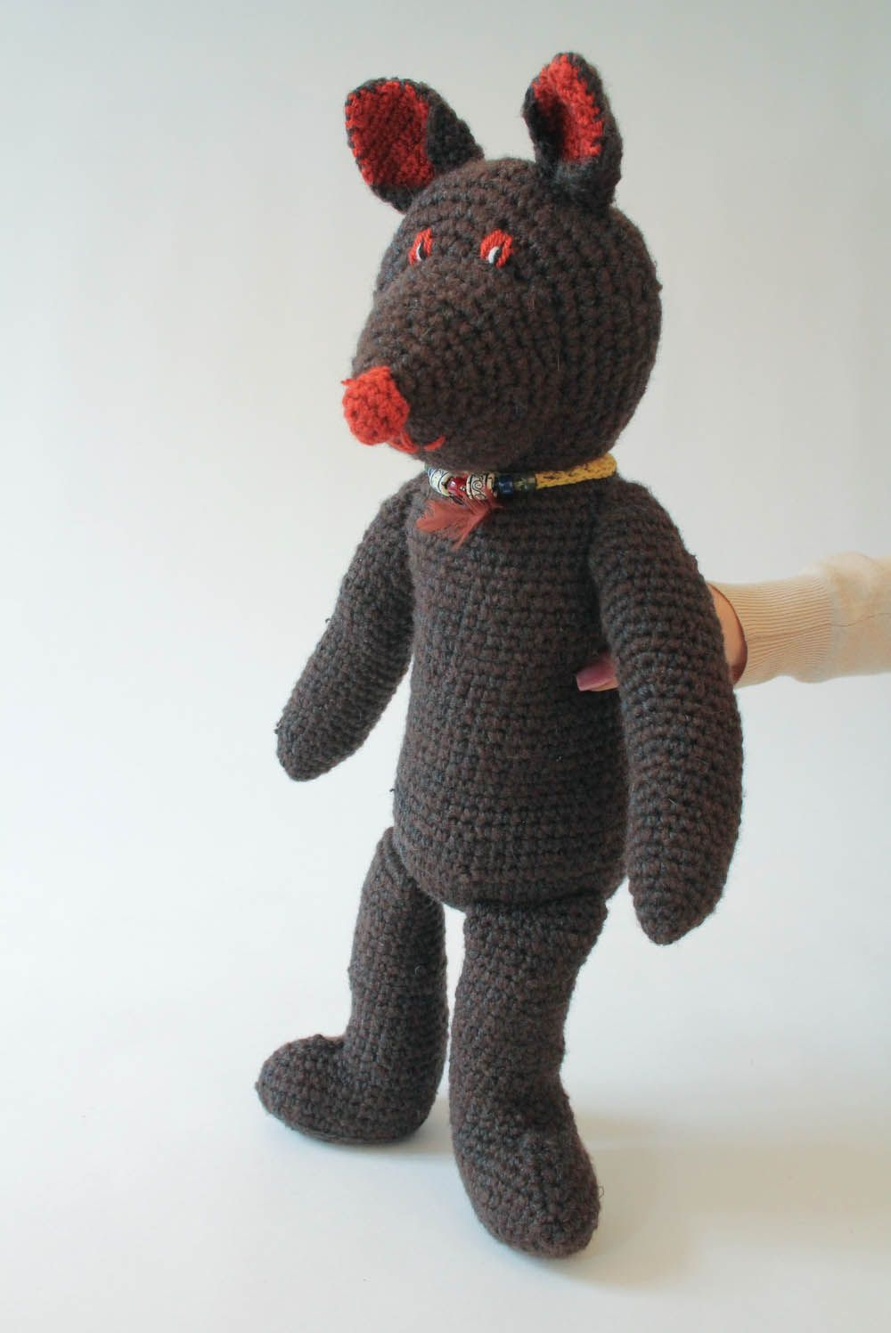 knitted toys Knitted handmade toy