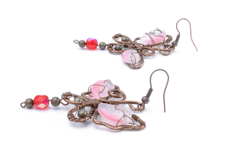 Copper earrings Dream photo 1