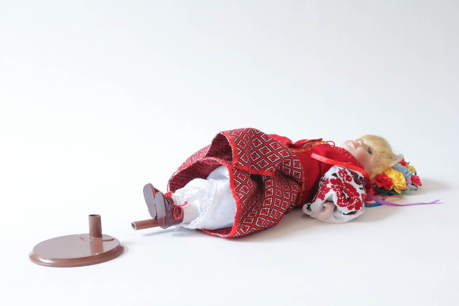 Doll in Ukrainian clothes photo 3