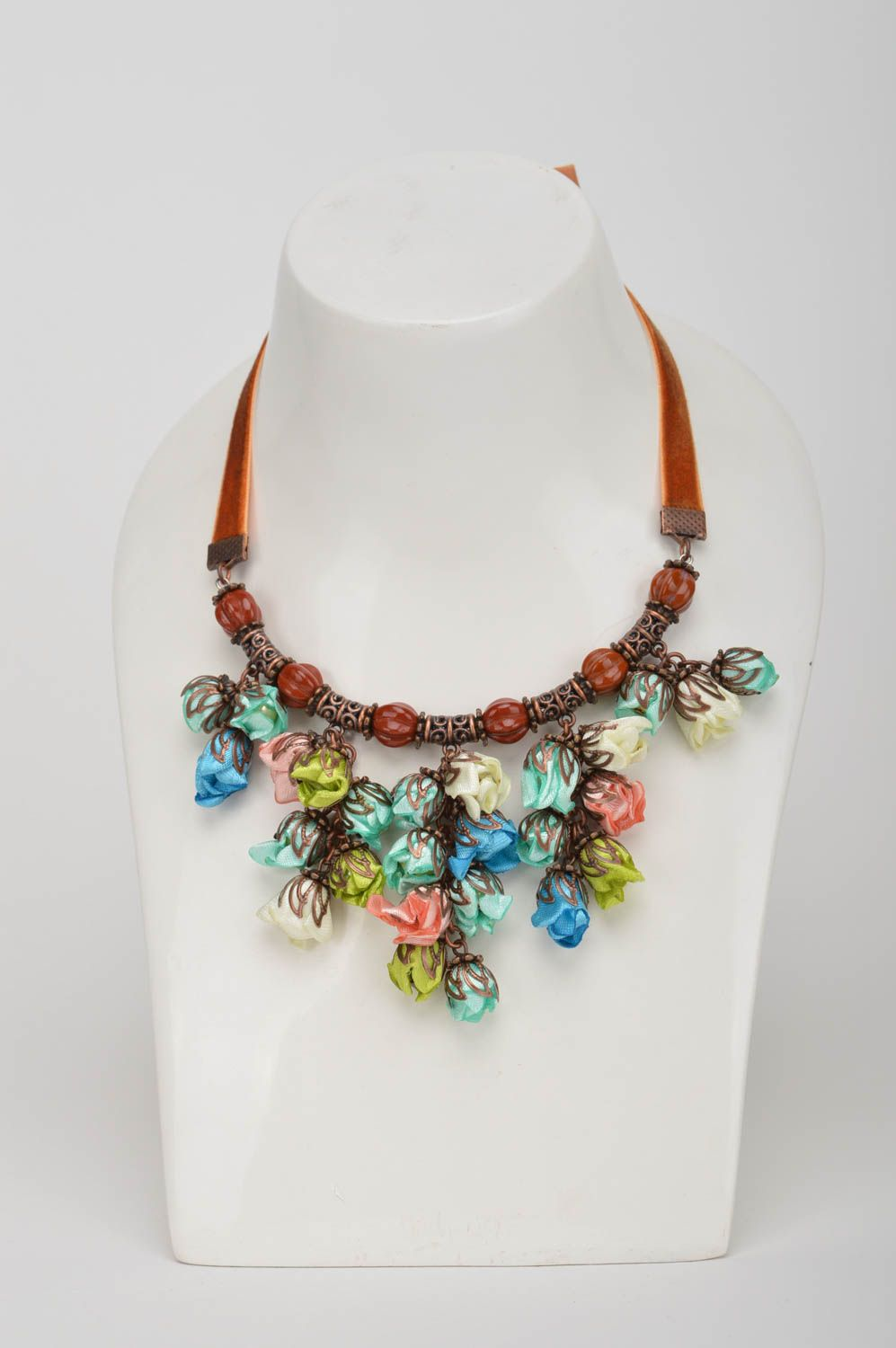 textile new category work art necklace kennedy wai jewellery yuk matching