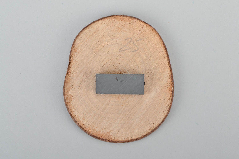 Wooden magnet Cossack photo 4