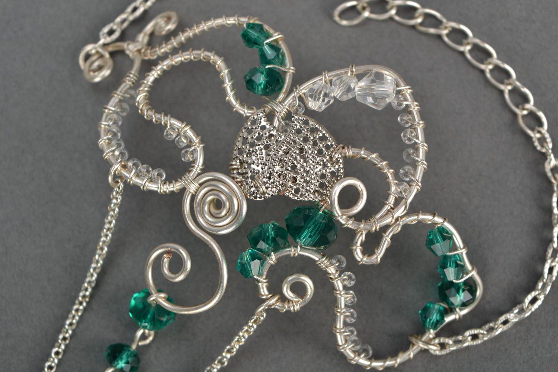Homemade slave bracelet with crystal photo 4