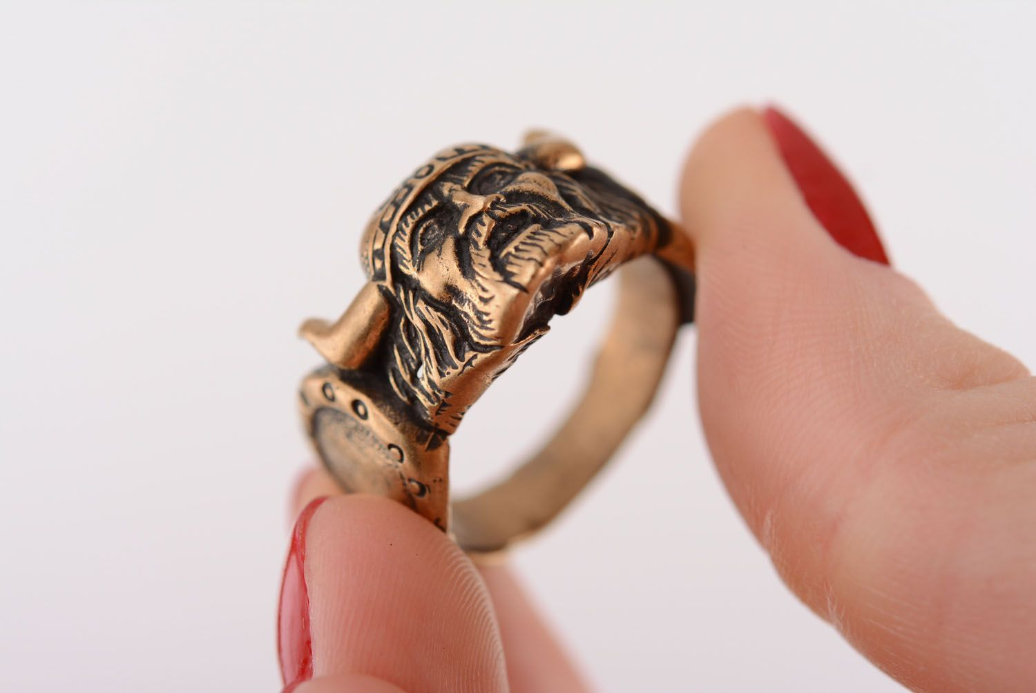 Bronze ring Viking photo 4