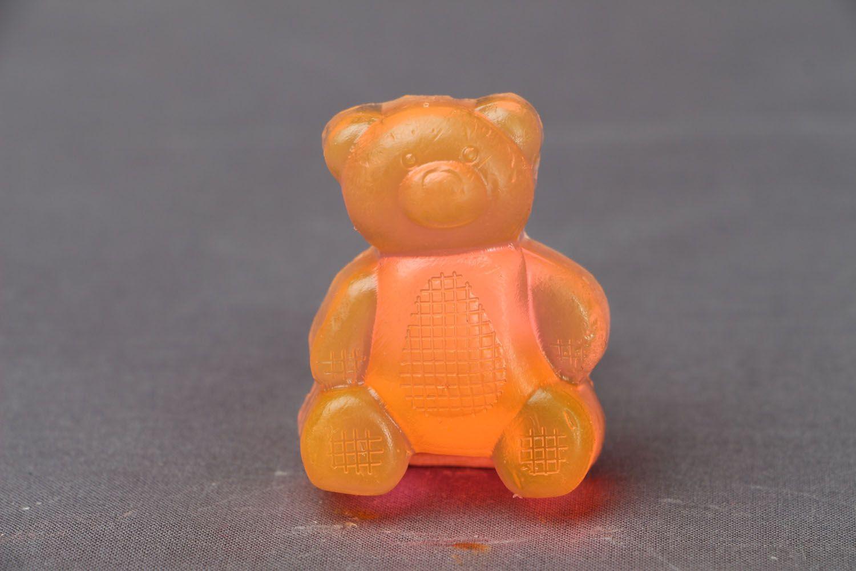 Handmade soap Bear photo 1