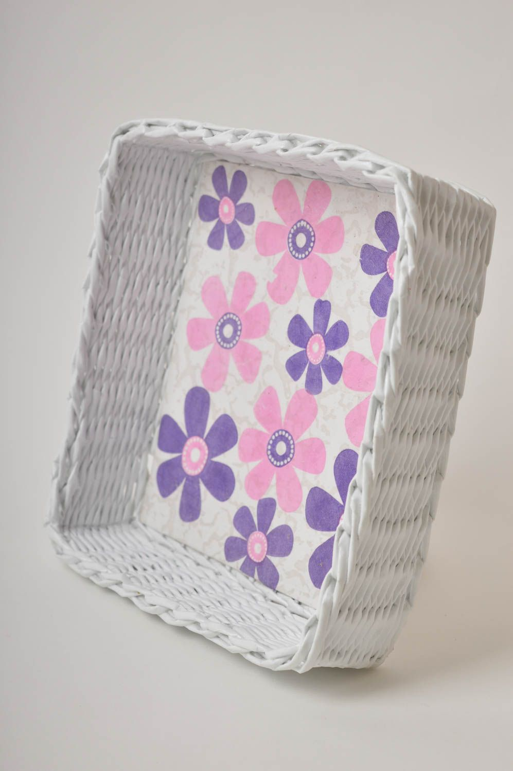 Handmade decorations woven basket paper basket gifts for women home decor photo 4