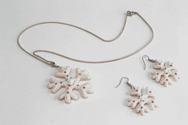 Jewelry set Snowflake photo 3