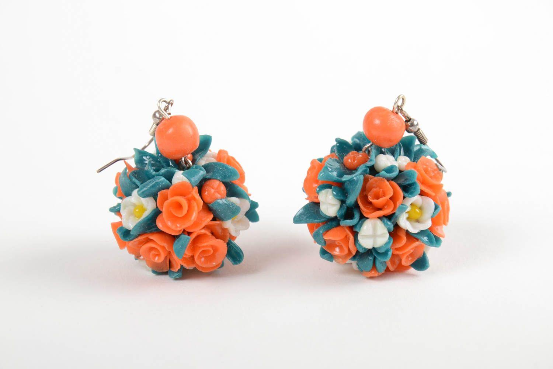 pendientes de arcilla polimérica Pendientes originales aretes artesanales bisutería fina accesorio de moda , MADEheart.