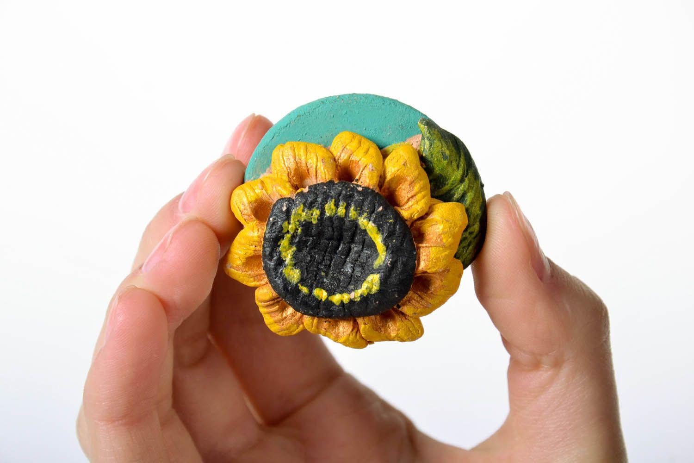 Fridge magnet Sunflower photo 5