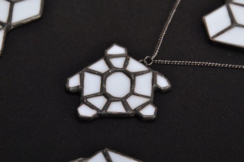 Schildkröte Anhänger aus Glas  foto 1