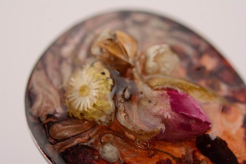 resin dry flower earrings Earrings with epoxy resin - MADEheart.com