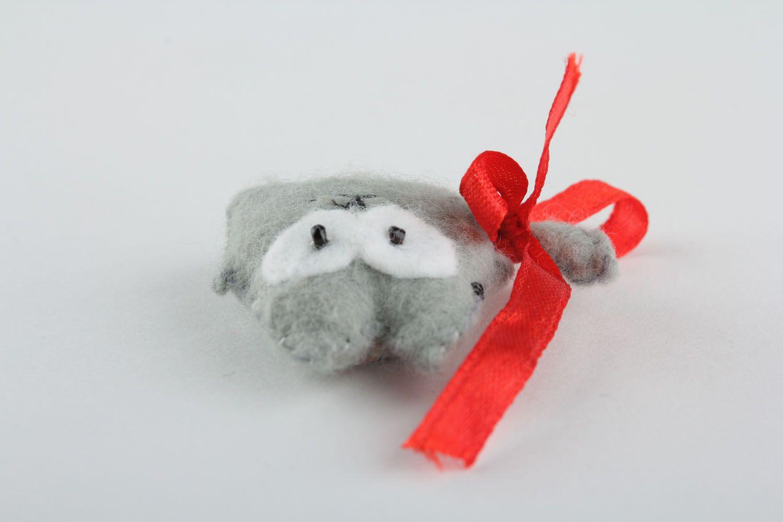 Soft fridge magnet Gray Cat photo 4