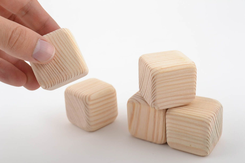 Madeheart cubos de madera para decorar hechos a mano - Decorar cajas de madera manualidades ...