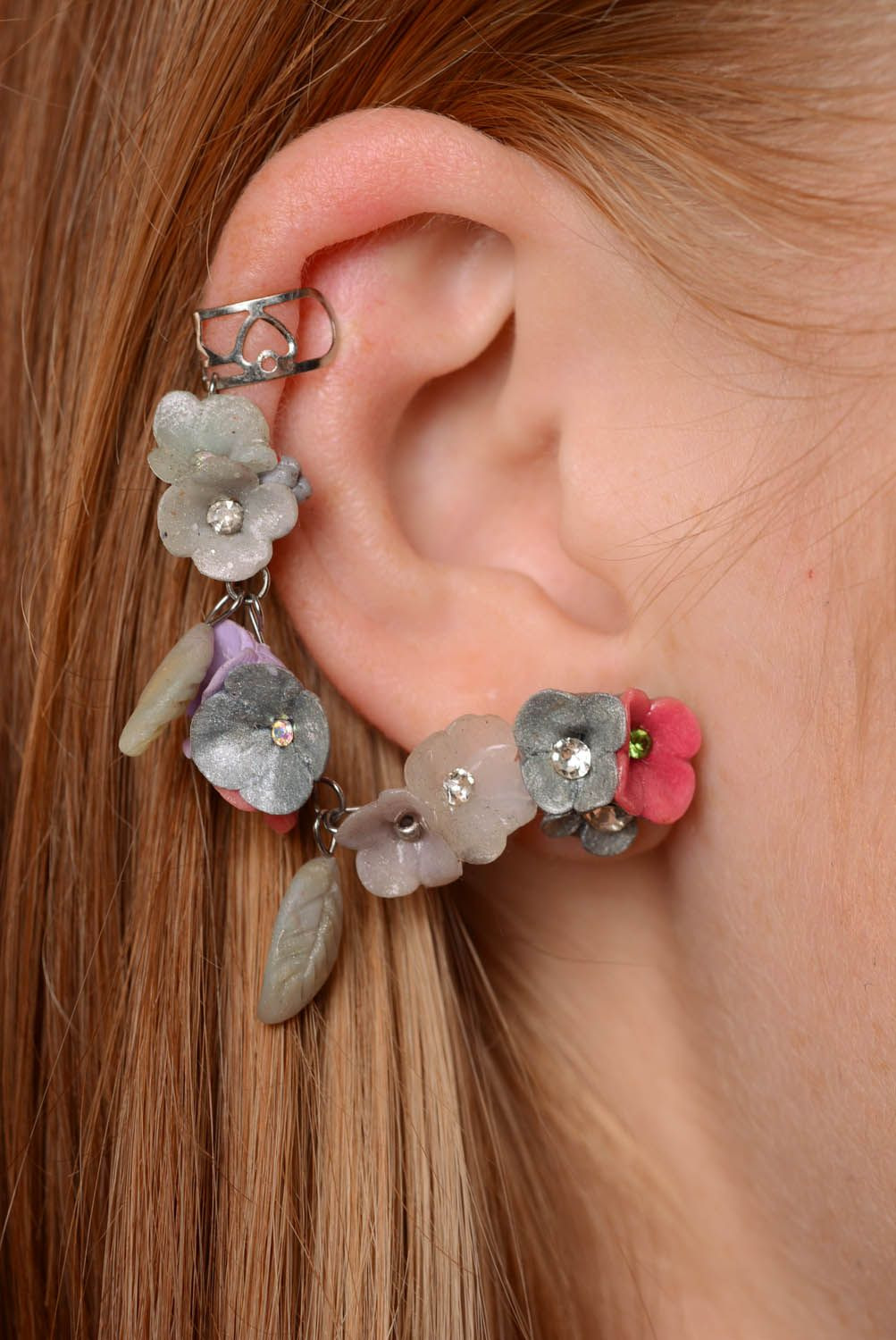 Earrings cuff Fairy Dreams photo 3
