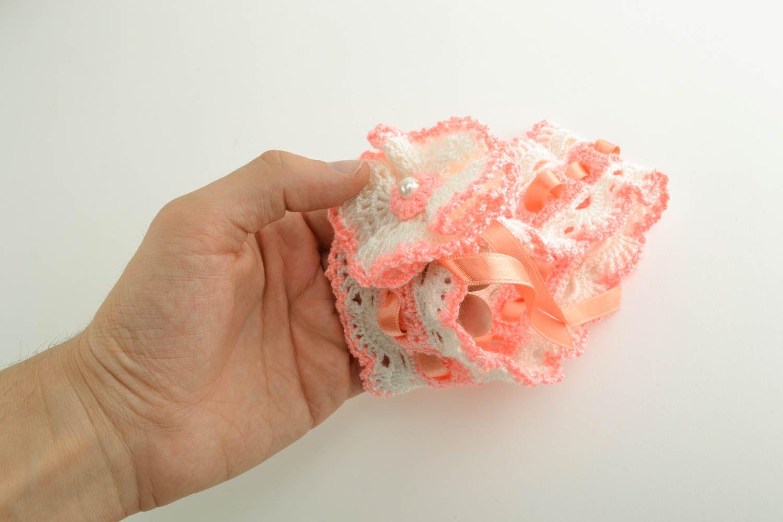 Crochet baby headband photo 4
