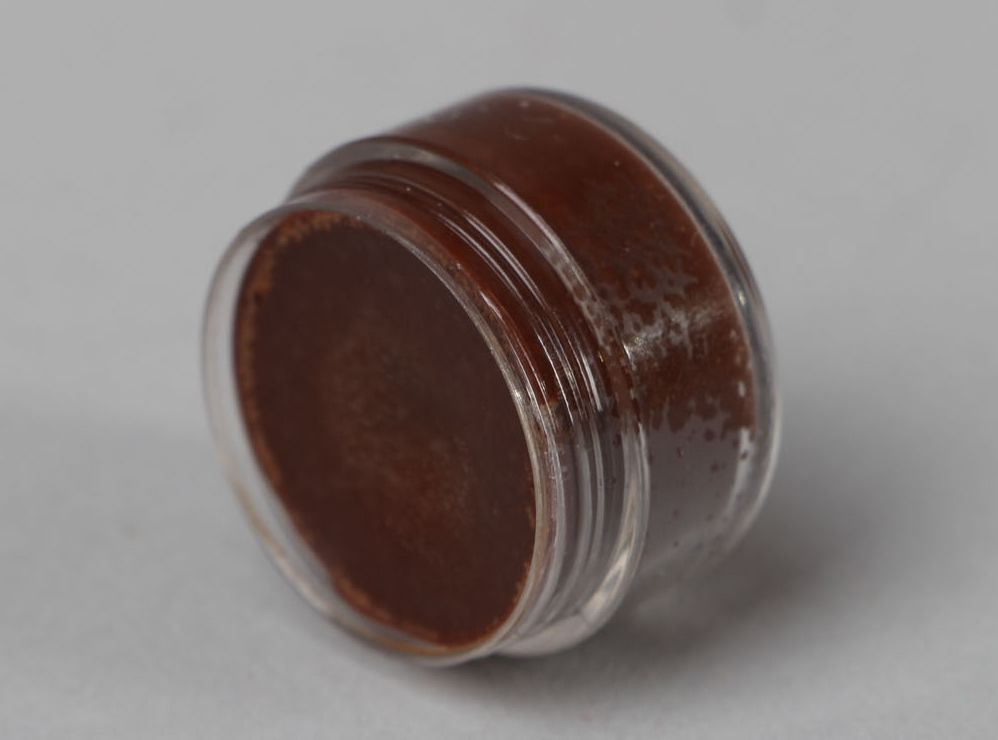 Natural lip balm with cocoa photo 2