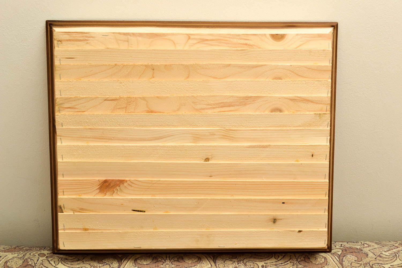 MADEHEART > Stylish handmade wall hanging wall panel wood craft ...