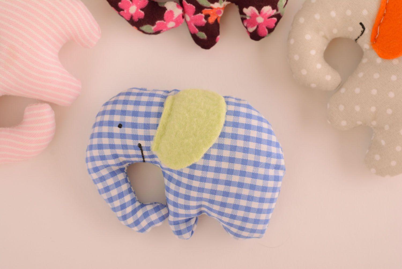 Homemade soft toy Elephant photo 5
