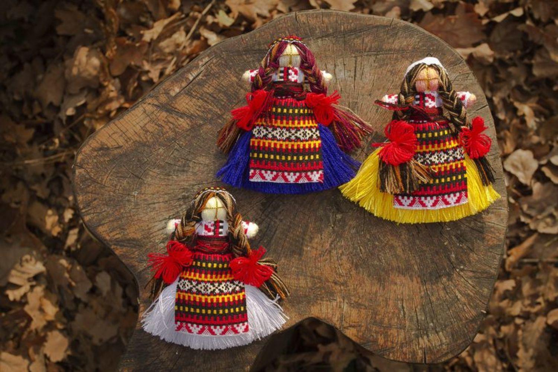 Ethnic talisman doll  photo 5