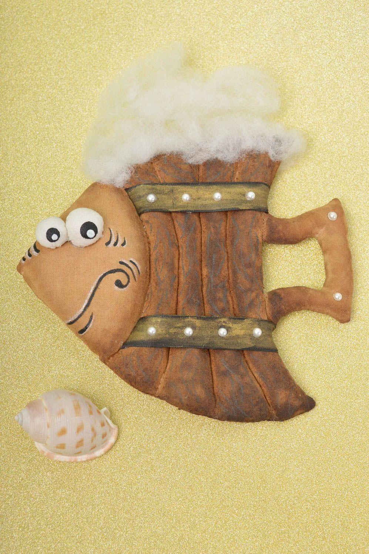 Beautiful lovely toy stylish unusual accessories designer handmade fish photo 1