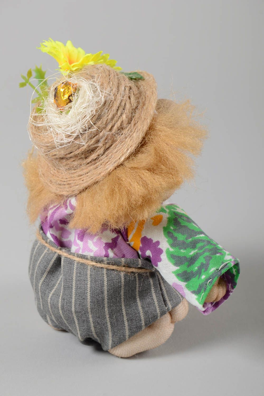 Stylish handmade soft toy interior decorating stuffed toy rag doll gift ideas photo 4