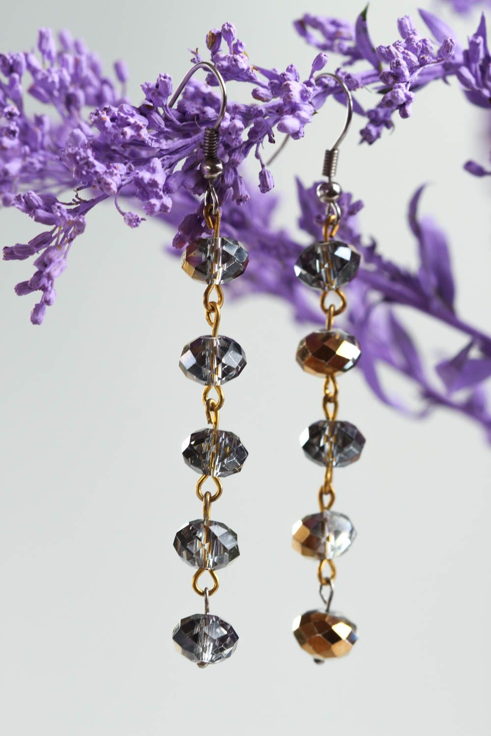 dangle earrings Stylish handmade crystal earrings beaded earrings costume jewelry designs - MADEheart.com  sc 1 st  MADEheart.com : stylish costume jewelry  - Germanpascual.Com