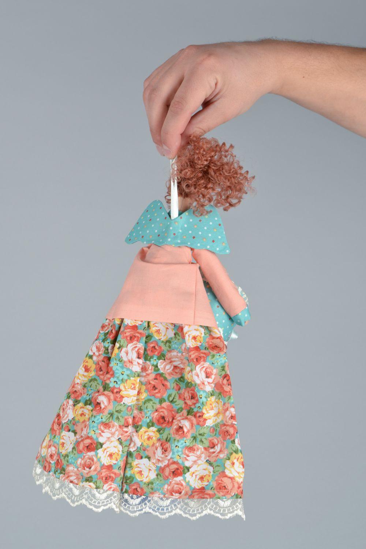 madeheart > organizador para baño con forma de muñeca de tela - Organizador De Juguetes Para Bano