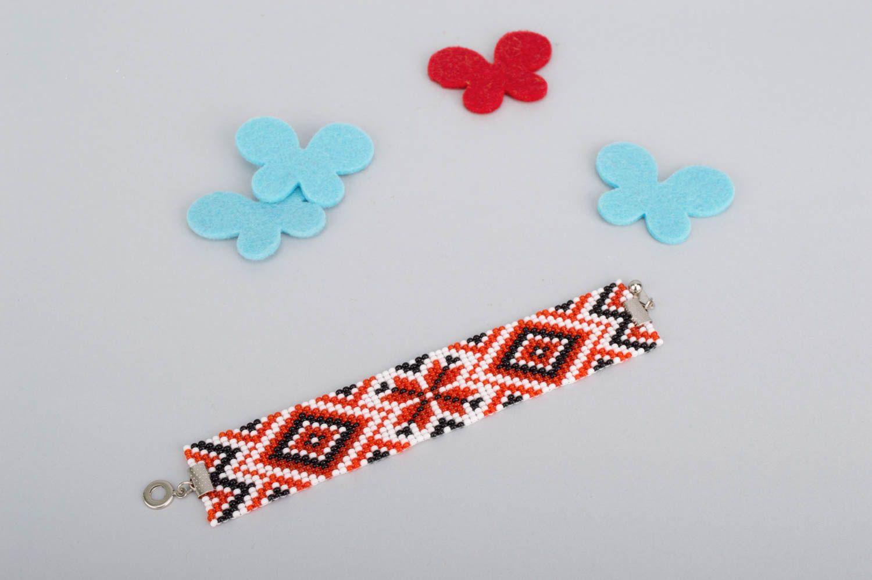 Beaded bracelet handmade bracelet designer jewelry women accessories cool gifts photo 1