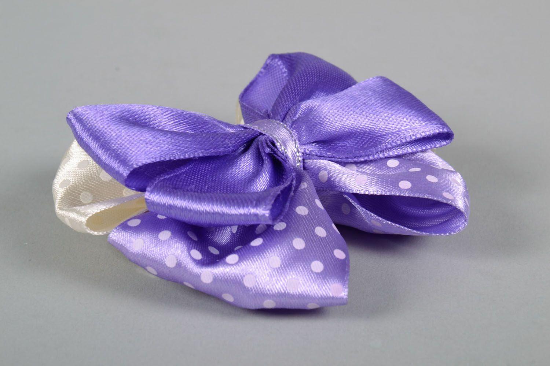 Hair clip Violet Bow photo 4