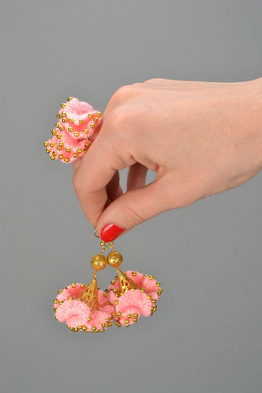 Crochet jewelry set Cake photo 2