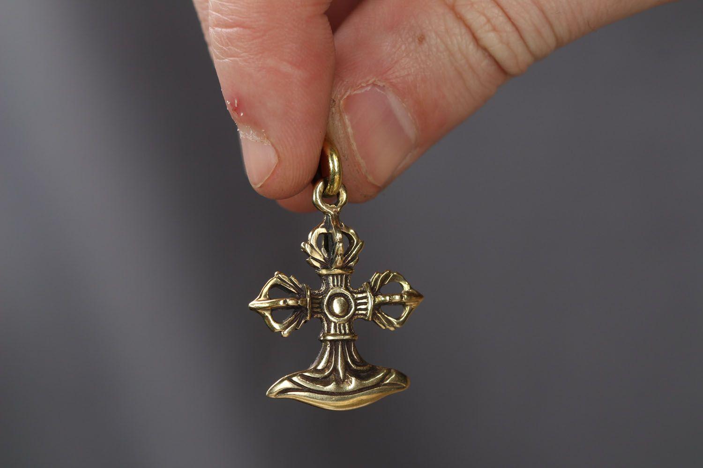 Bronze pectoral cross photo 3