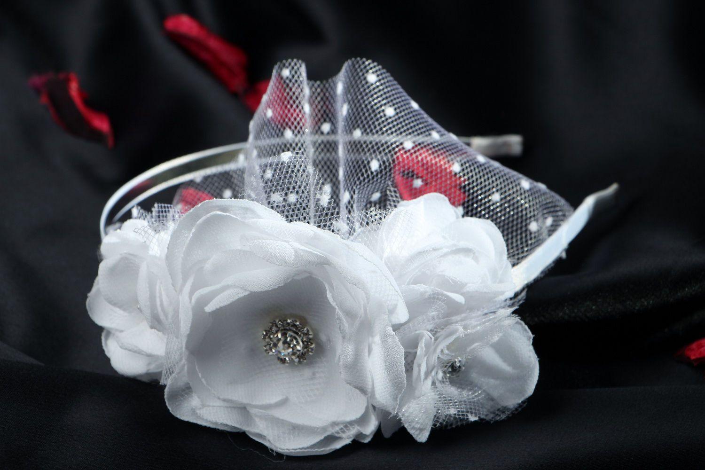 wedding accessories Headband for a Bride - MADEheart.com