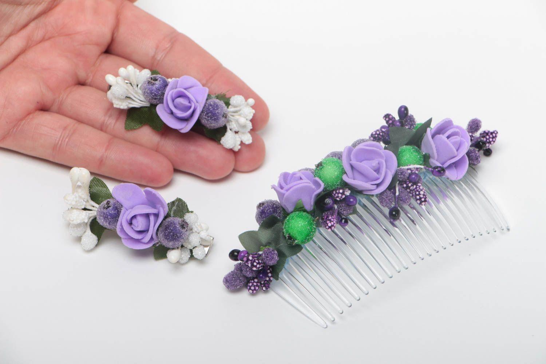 Цветы из фоамирана для заколки своими руками 28