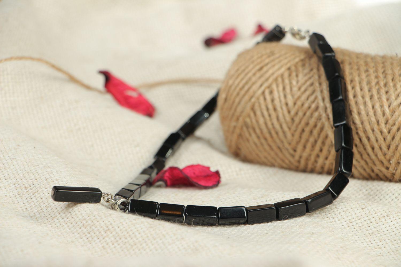 Handmade Czech glass chocker necklace Pallas photo 5