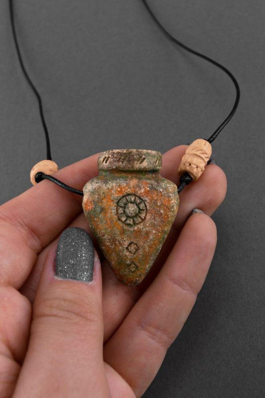 Ceramic pendant Amphora photo 5