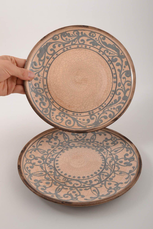 Madeheart platos de cer mica artesanales utensilios de for Utensilios de cocina de ceramica