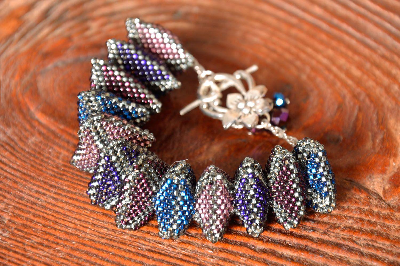 Unusual beaded bracelet photo 1