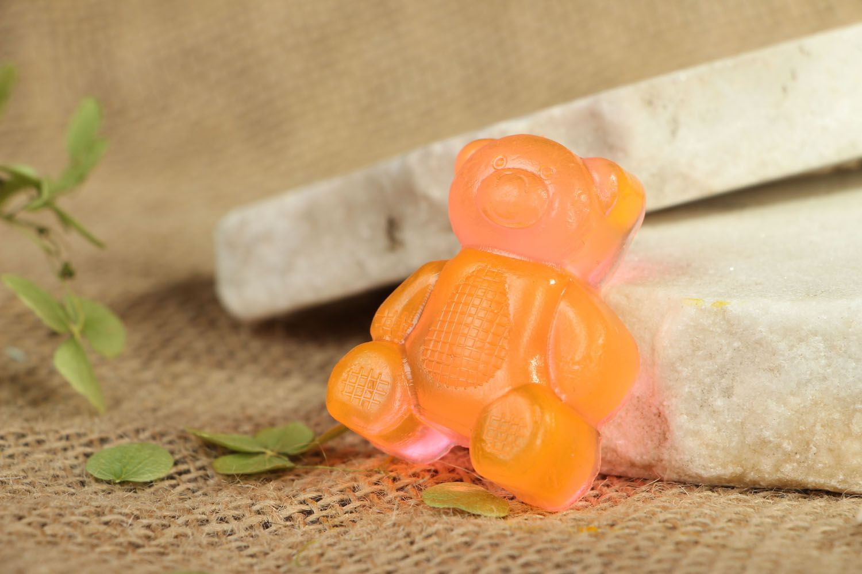 Handmade soap Bear photo 4