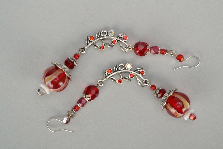 Handmade designer earrings photo 3