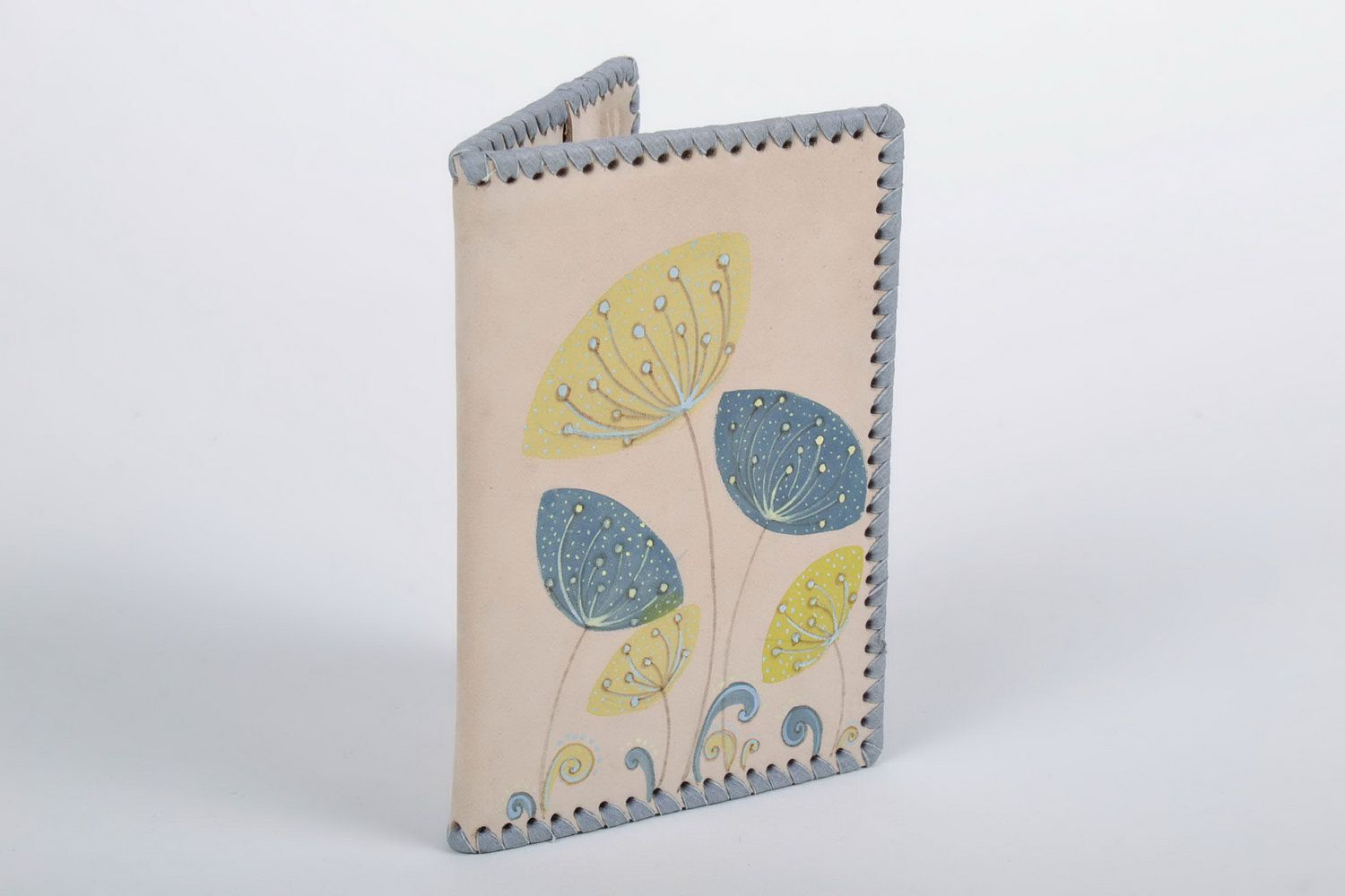 covers for documents Leather passport cover