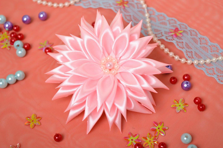 Украшение на голову ручной работы резинка с цветком украшение для волос фото 1