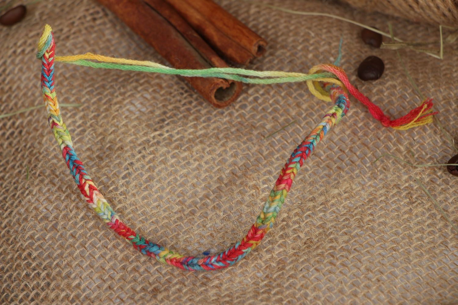 Thread bracelet  photo 4