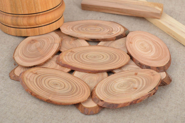 untersetzer Holz Untersetzer für heiße Töpfe Tassen schön