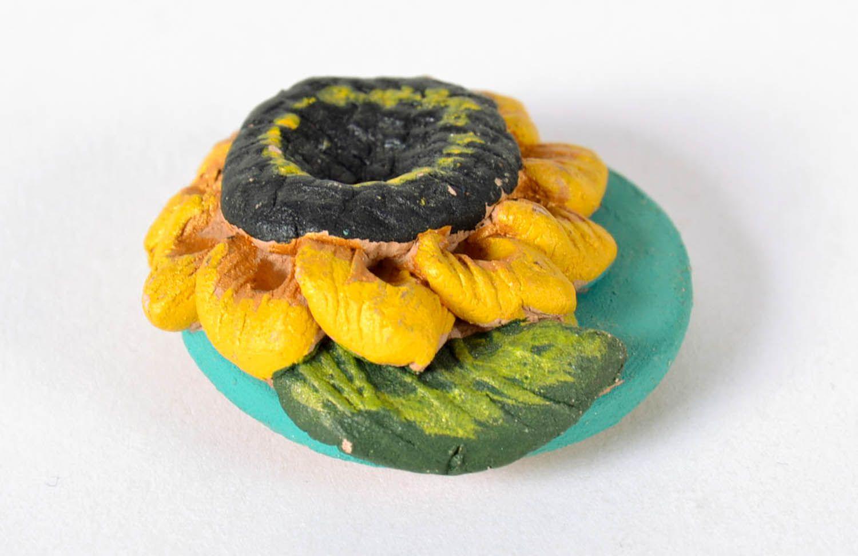 Fridge magnet Sunflower photo 2