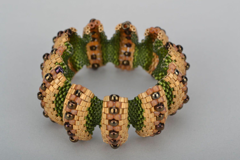 Relief beaded bracelet photo 4
