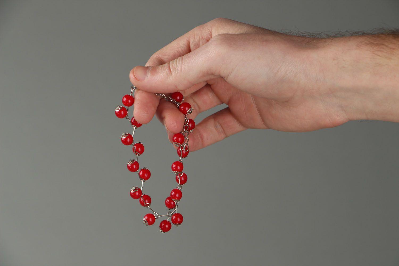 Unusual handmade bracelet photo 3