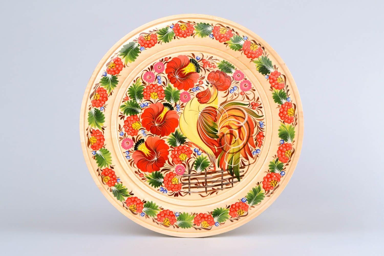 Тарелочка с росписью